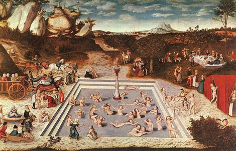 Lukas Cranach: der Jungbrunnen
