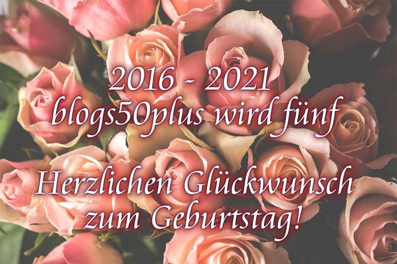 Blogs50plus herzlichen Glückwunsch